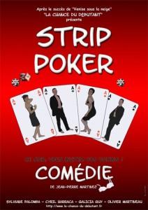 Strip Poker, Théâtre de l'Impasse et Théâtre de l'Alphabet à Nice en 2012