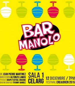 Bar Manolo teatro comedia descargar guion texto gratis